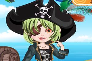女孩的海盗装