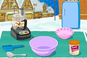 圣诞霜糖蛋糕