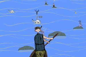 渔夫解救兔子