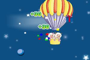 喜羊羊圣诞热气球
