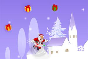 圣诞老头收礼物