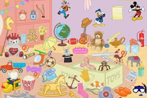 玩具房间找东西