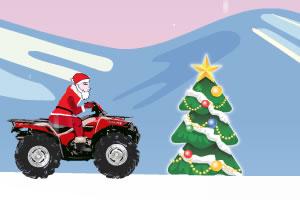 圣诞越野摩托
