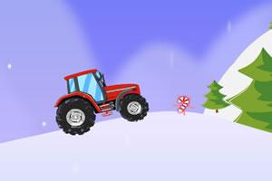 圣诞拖拉机