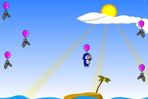 哆啦a梦踩气球