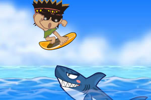 鲨鱼浪板冲冲冲