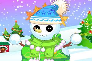 圣诞节雪人