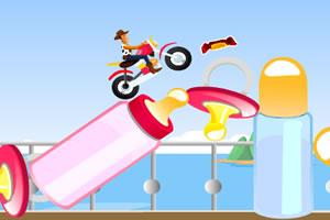 玩具主题摩托大赛