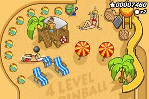 金色沙滩弹球