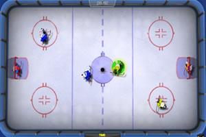 3对3冰球对抗赛