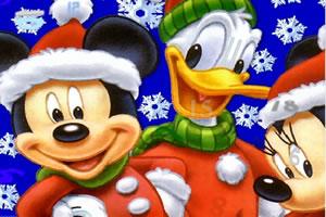 圣诞卡通找数字
