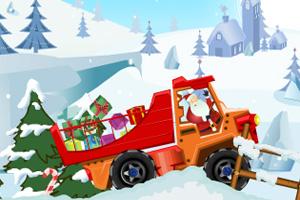 圣诞礼物运输车