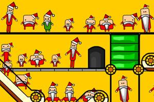 寻找假圣诞老人