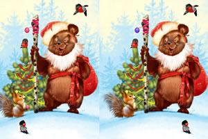 圣诞节梦幻找茬