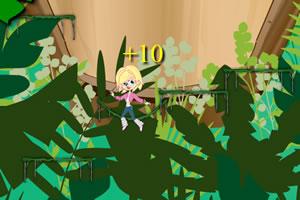 丛林女孩跳跳跳