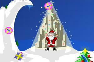 圣诞老人飞天