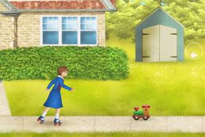 莫丽追小狗
