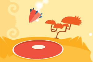 橙色飞船着陆选关版