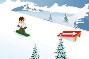 少年骇客滑板滑雪