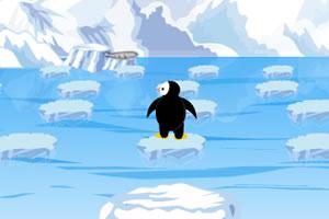 欢乐小企鹅过河