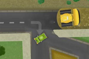 小车闯街区