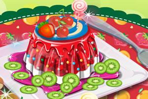 精致的水果蛋糕