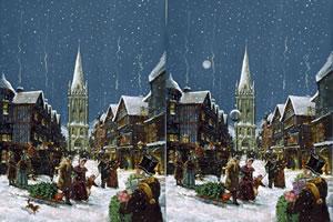 圣诞商业街找茬