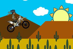 沙漠骑摩托车2