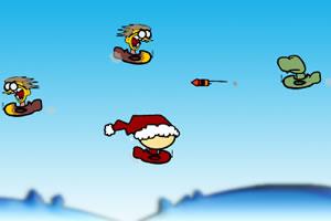 圣诞小子开飞机