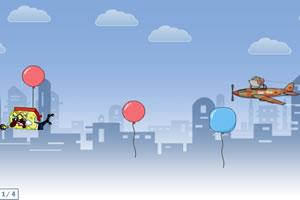 气球抢救海绵宝宝