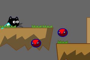 小黑猫过关斩将