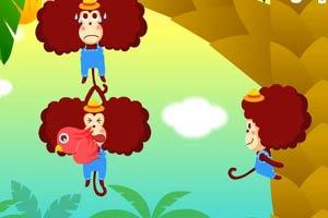 猴子摘香蕉
