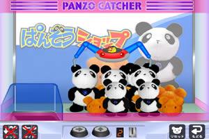 机械手抓熊猫
