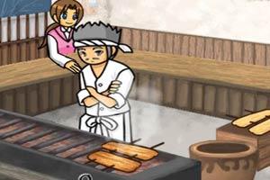 厨师烧烤店