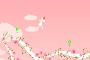 小天使找饼