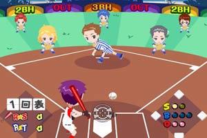 Q版女子棒球