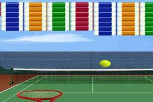网球消方块