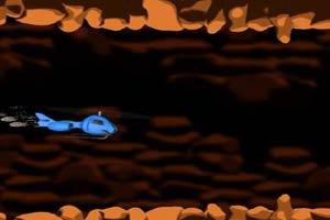 直升机穿越隧道