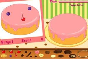 精品蛋糕装饰
