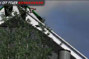 高台滑雪赛