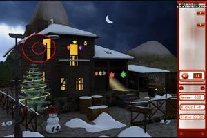 圣诞雪屋找数字