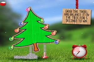 圣诞树的彩带