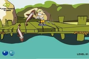 大战三文鱼