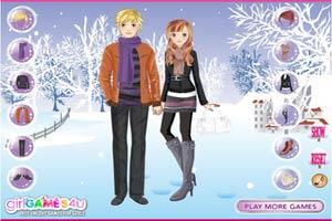 冬季浪漫情侣装