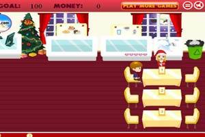 圣诞主题餐厅