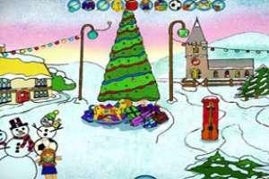 帮圣诞老人找玩具