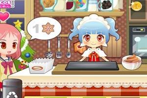 圣诞烤饼屋