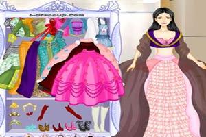 芭比娃娃民族裙