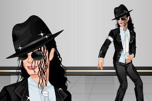 迈克尔・杰克逊装扮
