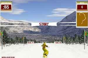 3D疯狂滑雪